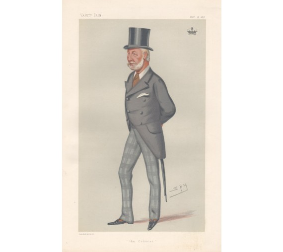 Vanity Fair Colonies Duke Manchester Spy lithograph
