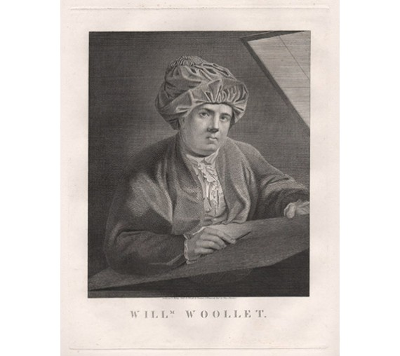 William Woollett engraving portrait Kisling