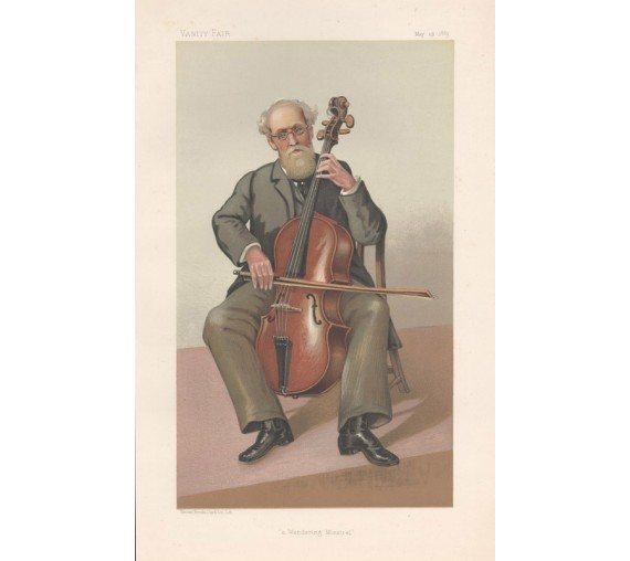 Vanity Fair Gerald Fitzgerald portrait cello music