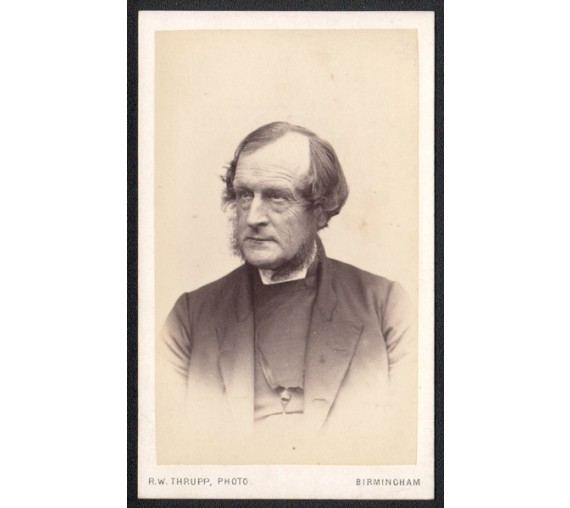 Bishop Selwyn Albumen photograph cdv carte visite