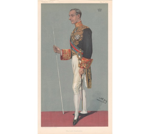 Vanity Fair Lord Hopetoun Chromolithograph Spy 1900