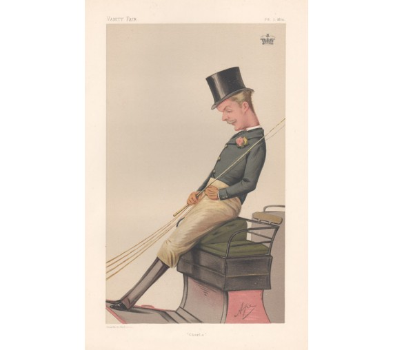 Vanity Fair Lord Carrington Chromolithograph Ape 1874