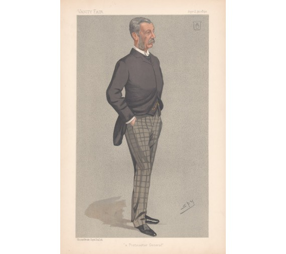 Vanity Fair Sir James Fergusson Chromolithograph Spy 1892