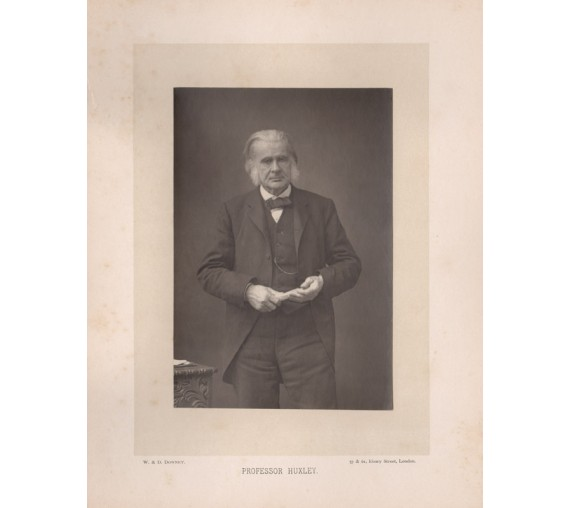 Professor Huxley Carbon print Downey photograph