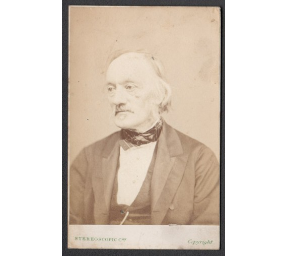 Richard Owen Albumen Photograph Carte de Visite cdv