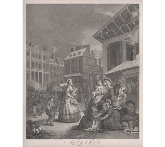 Times of the Day Morning William Hogarth