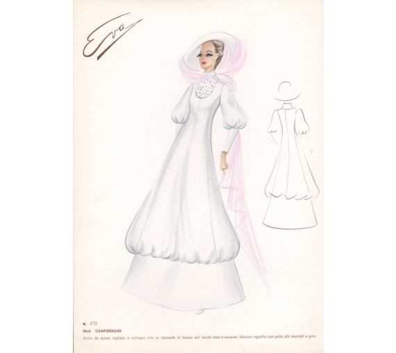italian wedding dress 1960s fashion design white