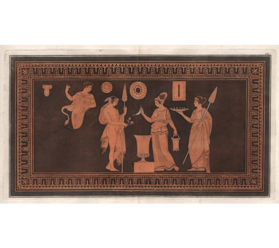Hercules William Hamilton Greek Vase painting engraving Etruscan D'Hancarvill