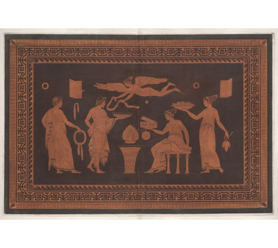Eros William Hamilton Greek Vase painting engraving Etruscan D'Hancarville