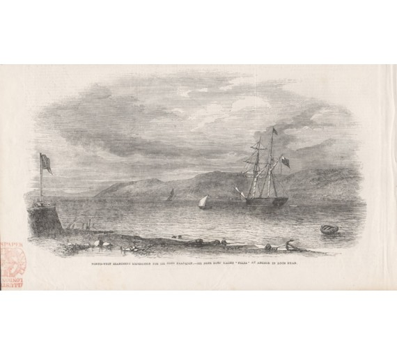 North West Searching Expedition John Franklin engraving