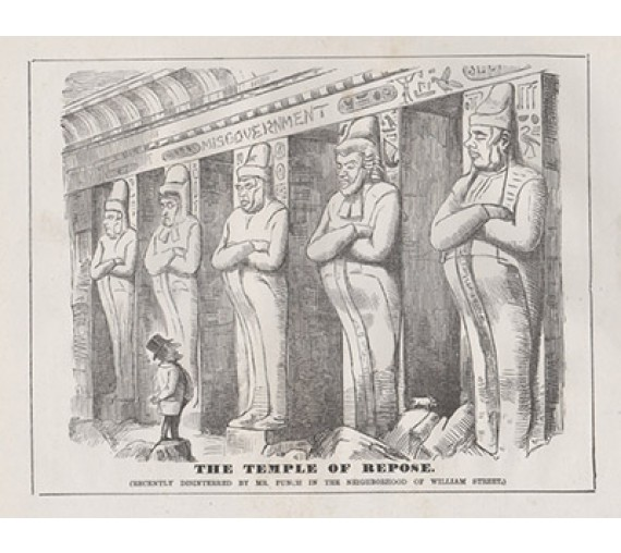 Temple Repose engraving 1859 Melbourne Punch
