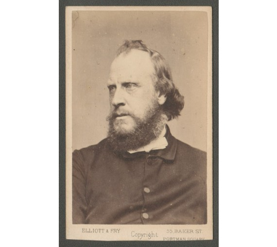 William Landels portrait cdv elliott fry photograph Baptist