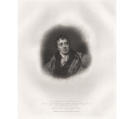 James Mackintosh portrait engraving Thomas Lawrence 1814