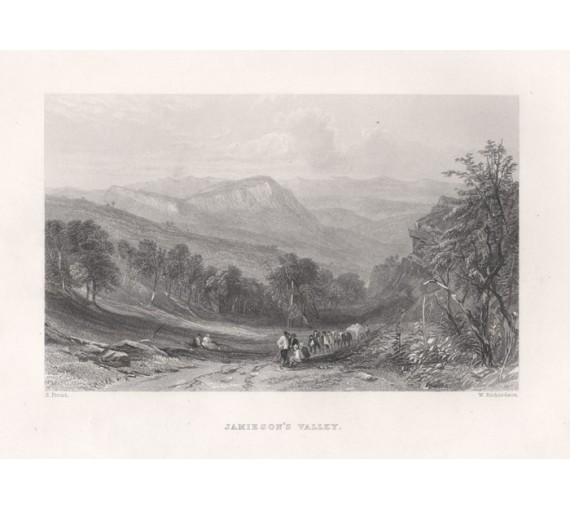 Jamiesons Valley engraving John Skinner Prout 1874