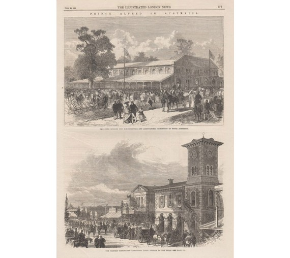 Prince Alfred Australia engravingIllustrated London News 1868