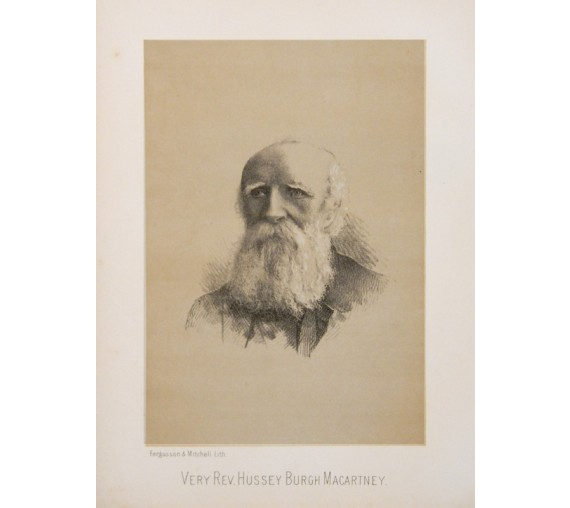 Hussey Burgh Macartney portrait lithograph