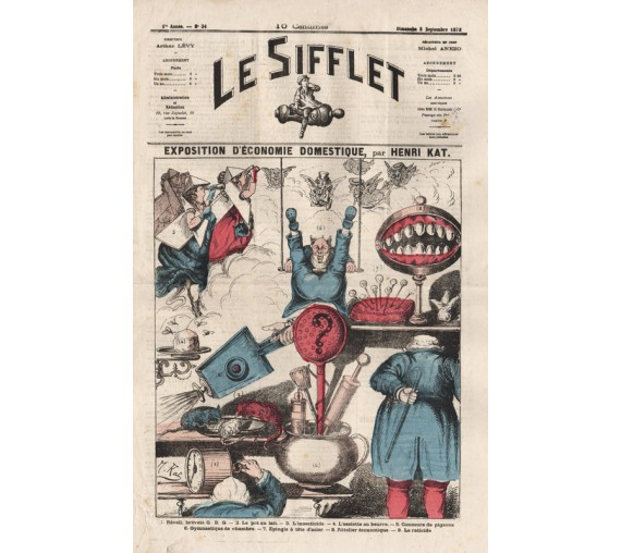Le Sifflet Dentistry false teeth cartoon