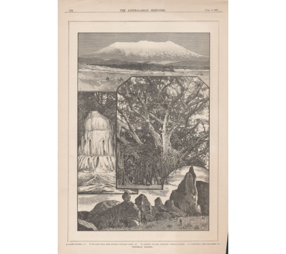 picturesque sketches new zealand engraving australasian sketcher