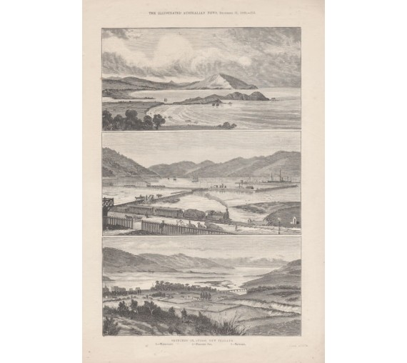 otago new zealand engraving illustrated australian news