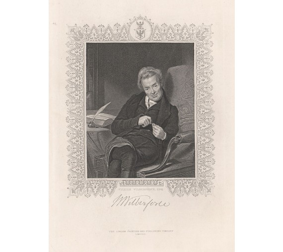 william wilberforce engraving george richmond portrait