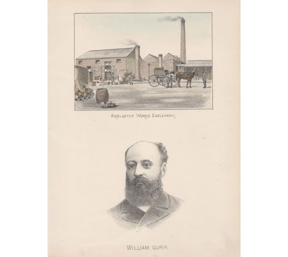 arblaster works eaglehawk william gurr lithograph