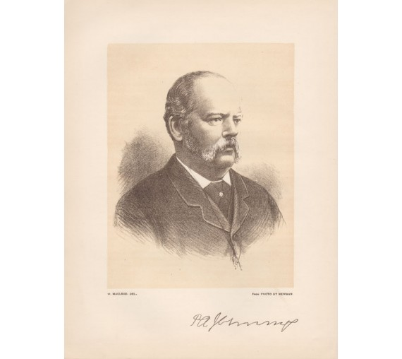 patrick alfred jennings portrait lithograph