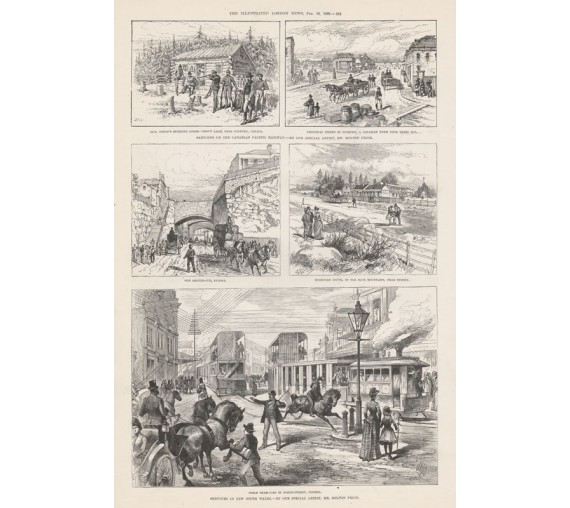 sketches new south wales engraving illustrated london news