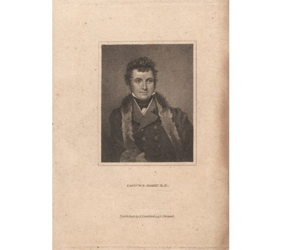 Captain Parry portrait engraving Samuel Drummond 1820