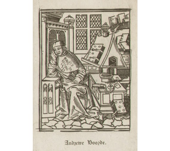 Andrew Boorde portrait engraving doctor physician