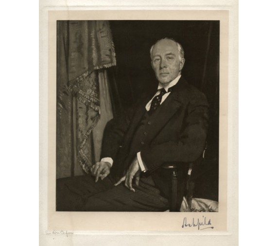 Lord Ashfield portrait engraving William Orpen