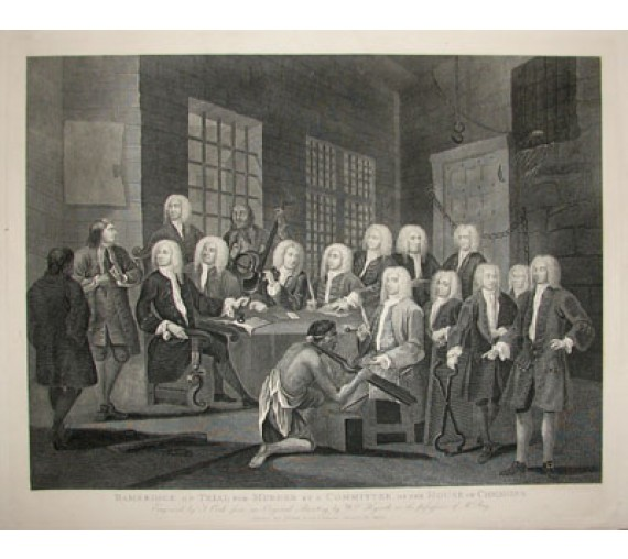bambridge trial william hogarth legal lawyer judge engraving