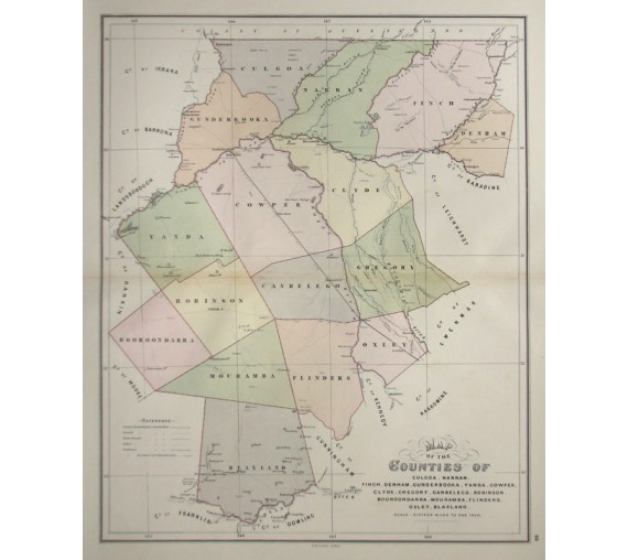 nsw county map culgoa narran finch denham