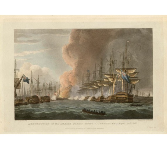 Destruction Danish Fleet Copenhagen Jenkins Naval Achievements