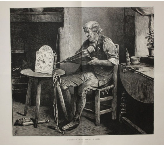 Doctoring Old Time engraving Roberts