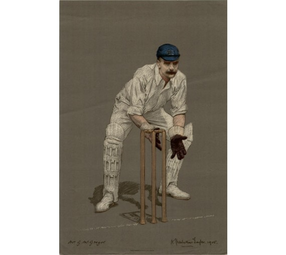 Gregor MacGregor Empire Cricketers antique lithograph Chevallier Tayler