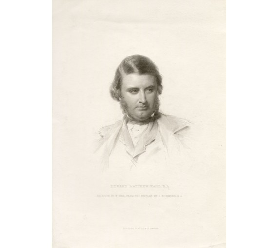 Edward Matthew Ward portrait engraving Richmond