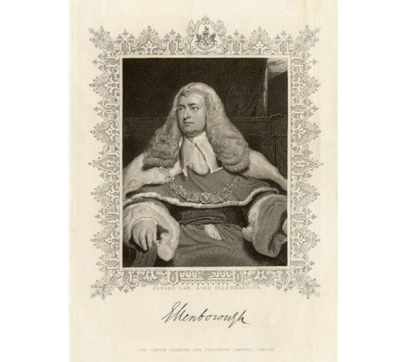 lord ellenborough thomas lawrence legal lawyer judge engraving