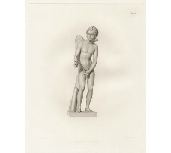 Roman statue sculpture Cupid bow Corbould