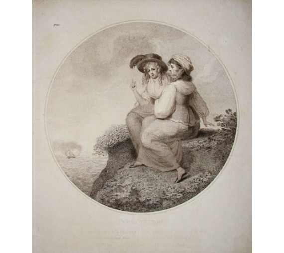 Expectation engraving John Raphael Smith Bunbury
