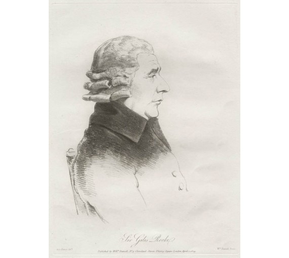 giles rooke daniell legal lawyer judge engraving