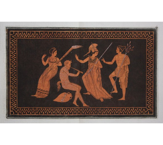 Apollo Marsyas William Hamilton Greek Vase engraving Etruscan
