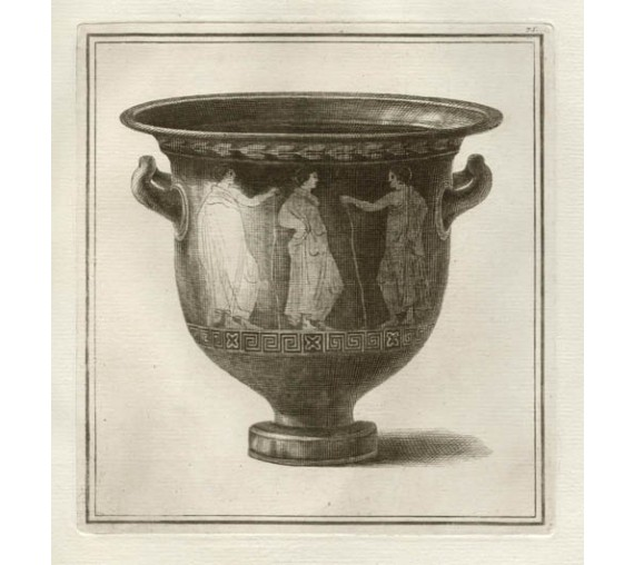 Lucanian bell krater William Hamilton Greek Vase engraving Etruscan