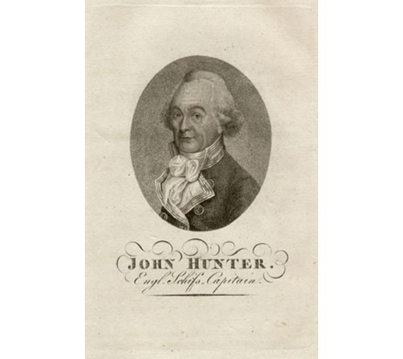 John Hunter portrait engraving Robert Dighton