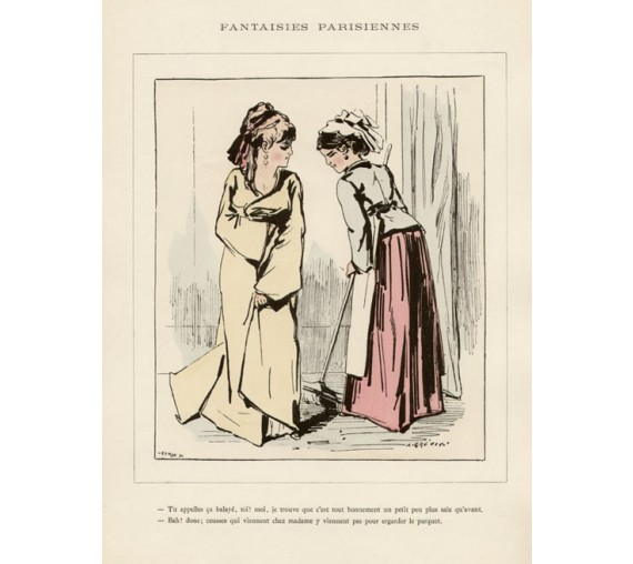 Alfred Grevin French caricature Fantaisies Parisiennes