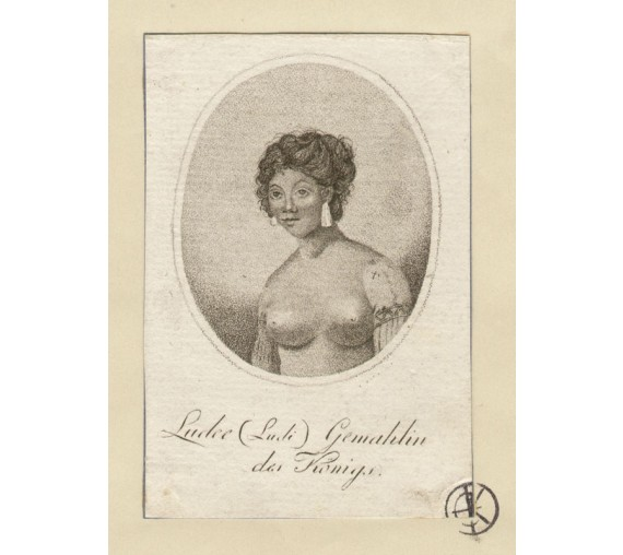Ludee wives Abba Thulle engraving