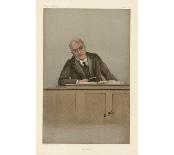 marylebone plowden vanity fair magistrate police chromolthograph
