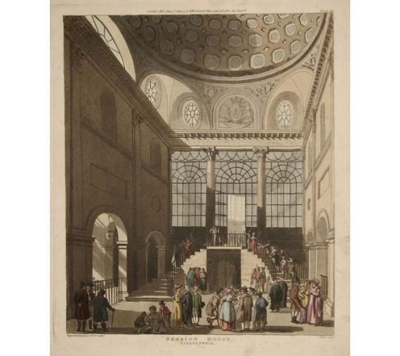 sessions house microcosm london aquatint rowlandson pugin