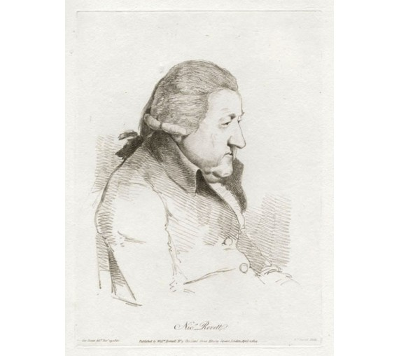 Nicholas Revett portrait William Daniell George Dance