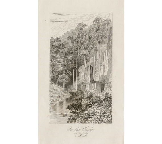 On the Clyde VDL Etching 1843