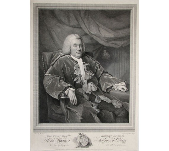 robert dundas henry raeburn legal lawyer judge engraving